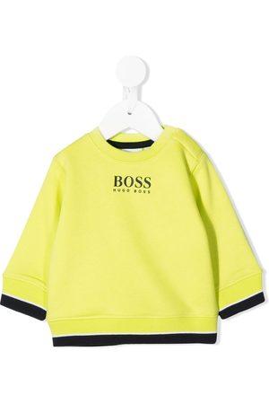 HUGO BOSS Contrast trim sweatshirt