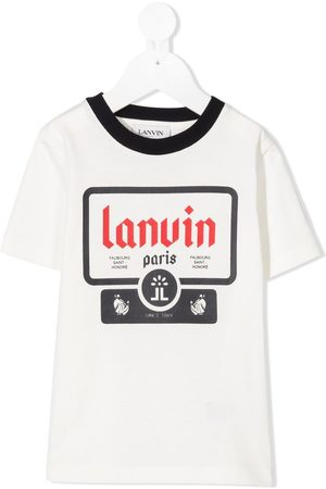Lanvin Printed organic cotton T-shirt