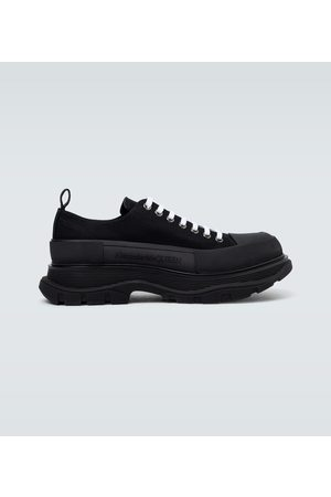 Alexander McQueen Men Sneakers - Tread Slick platform sneakers