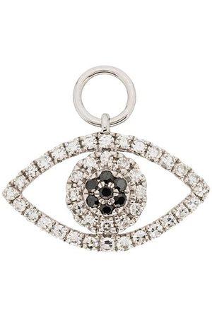 Roxanne First 14K diamond eye charm