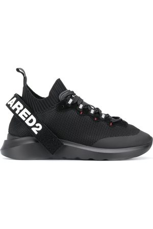 Dsquared2 Logo strap high-top sneakers