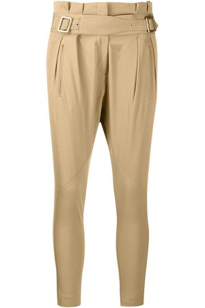 Dior 2000s pre-owned slim-fit trousers