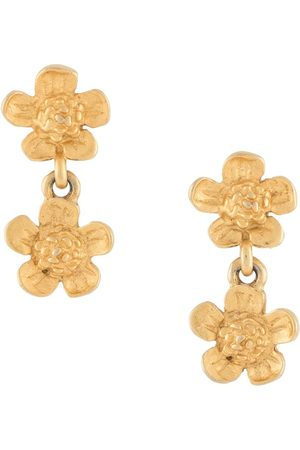 Givenchy Pre-Owned Women Earrings - 1990s double flower earrings