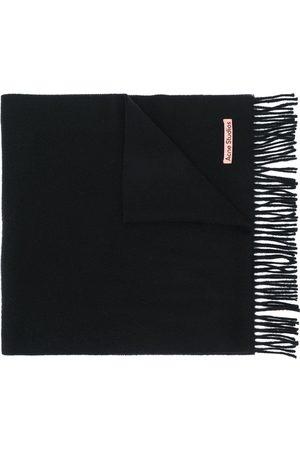 Acne Studios Narrow fringed scarf