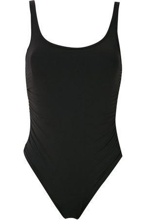 AMIR SLAMA Women Beachwear - Maio open back on piece