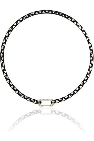 EÉRA 18kt white gold Lucy diamond-embellished choker