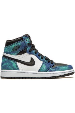 """Jordan Air 1 High """"Tie-Dye"""" sneakers"""