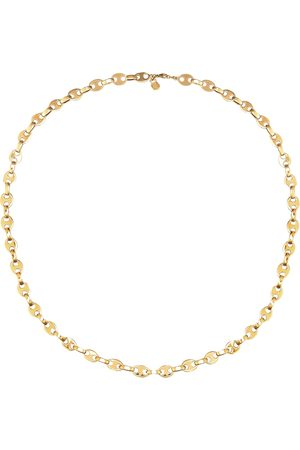 Paco rabanne Brass chain necklace