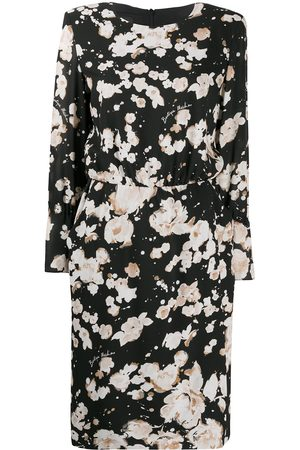 Moschino Floral print shift dress