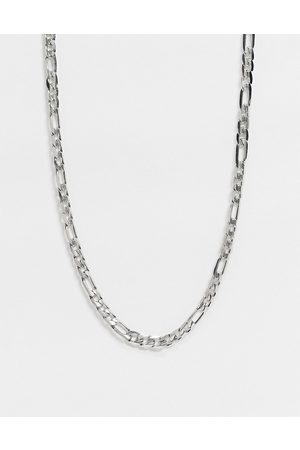 Icon Brand Stainless steel figaro neckchain in
