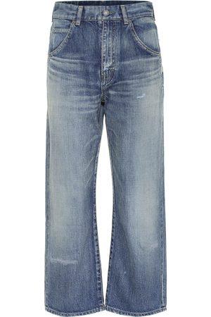 Saint Laurent '70s high-rise straight jeans
