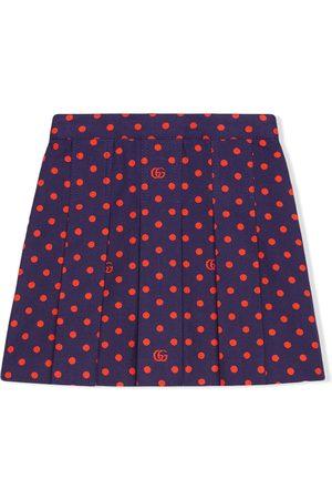 Gucci Polka-dot printed skirt