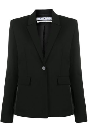 OFF-WHITE Logo side stripe tailored blazer