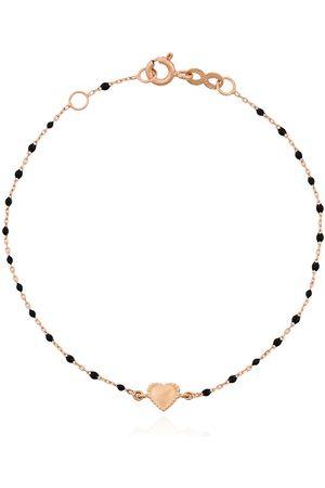 GIGI CLOZEAU 18kt rose gold Heart charm bracelet