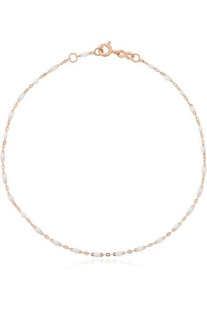 GIGI CLOZEAU 18kt rose gold beaded anklet