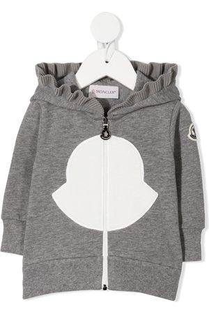 Moncler Logo print hoodie