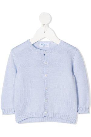 SIOLA Merino wool round-neck cardigan
