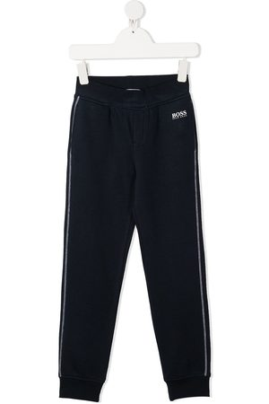 HUGO BOSS Contrast stitching track pants