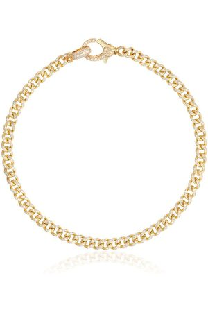 Shay 18K yellow 7 inch baby pavé diamond bracelet