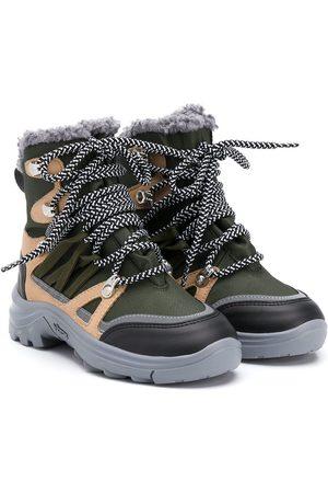 Stella McCartney Panelled hiker boots