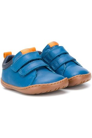 Camper Kids Touch fastening leather pre-walkers