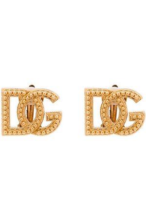 Dolce & Gabbana Studded clip-on earrings