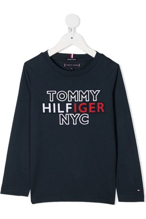 Tommy Hilfiger Embroidered logo crew neck tee