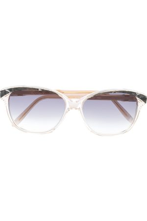 Yves Saint Laurent 1980s rectangular-frame sunglasses