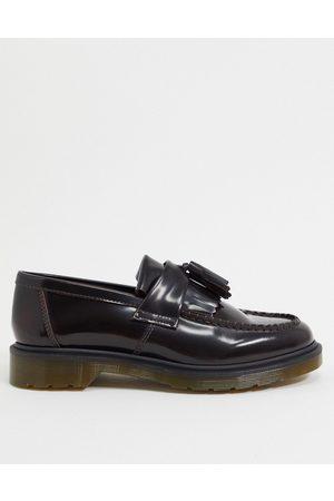 Dr. Martens Adrian tassel loafers in burgundy