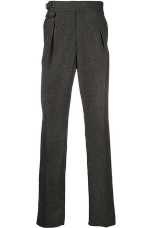 Alexander McQueen Straight-leg wool trousers