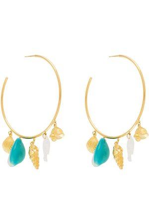 Aurélie Bidermann Aguas hoop earrings