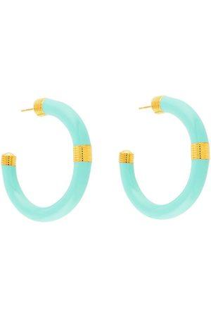Aurélie Bidermann Katt hoop earrings