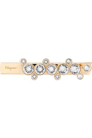 Salvatore Ferragamo Gem embellished hair clip