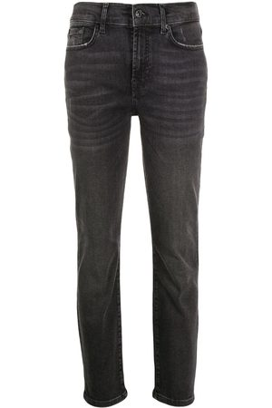 7 for all Mankind High-rise slim fit jeans