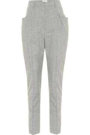 Isabel Marant, Étoile Loreia slim wool-blend pants