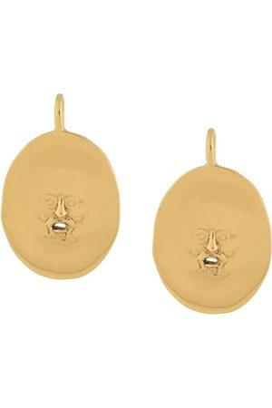 Patou Antic Face earrings