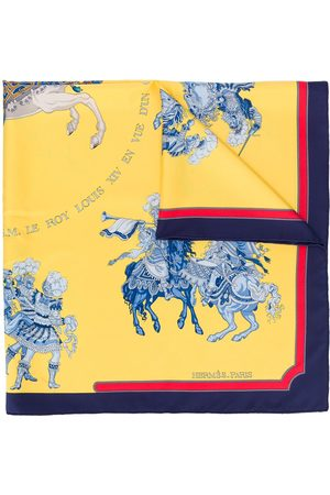 Hermès 1990s pre-owned Carrousel scarf