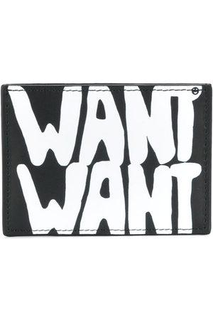 VALENTINO GARAVANI Want print leather cardholder