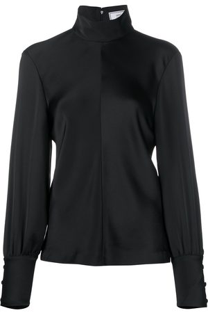 Ami Funnel neck blouse