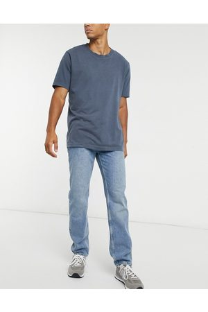 ASOS Original fit jeans in mid dirty stone wash