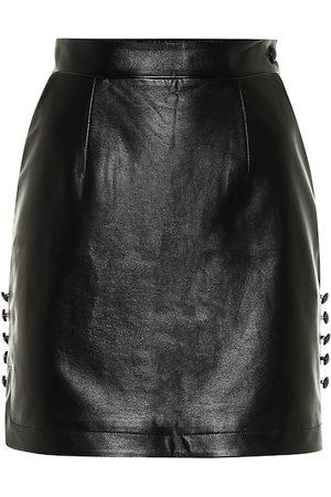 Matériel Tbilisi Faux leather miniskirt