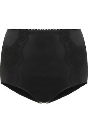 Dolce & Gabbana High-rise stretch-satin briefs