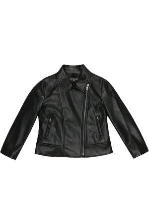 MONNALISA X Olive Oyl® faux leather jacket