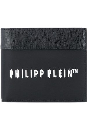 Philipp Plein Logo-print bifold wallet