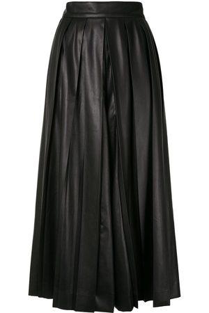 GOEN.J Pleated midi flared skirt