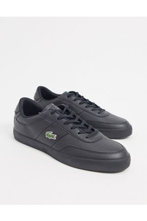 Lacoste Court master perf stripe trainers in