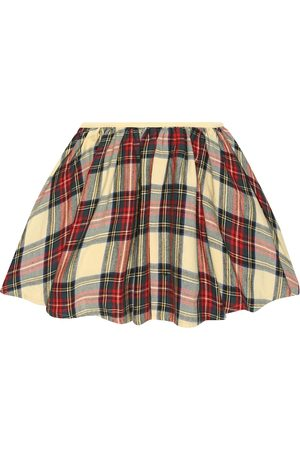 MORLEY Mona Clan tartan cotton skirt