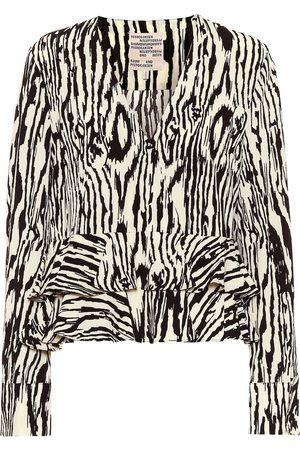 Baum und Pferdgarten Maloua printed blouse