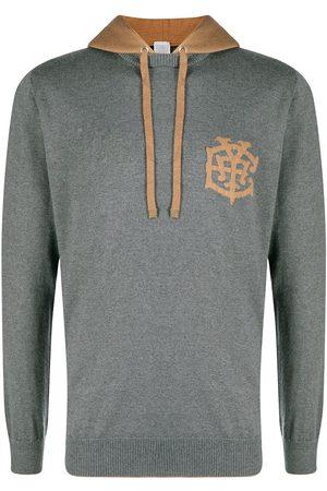 ELEVENTY Chest logo hoodie