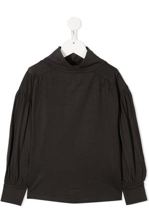 DOUUOD KIDS High-neck long-sleeve jumper